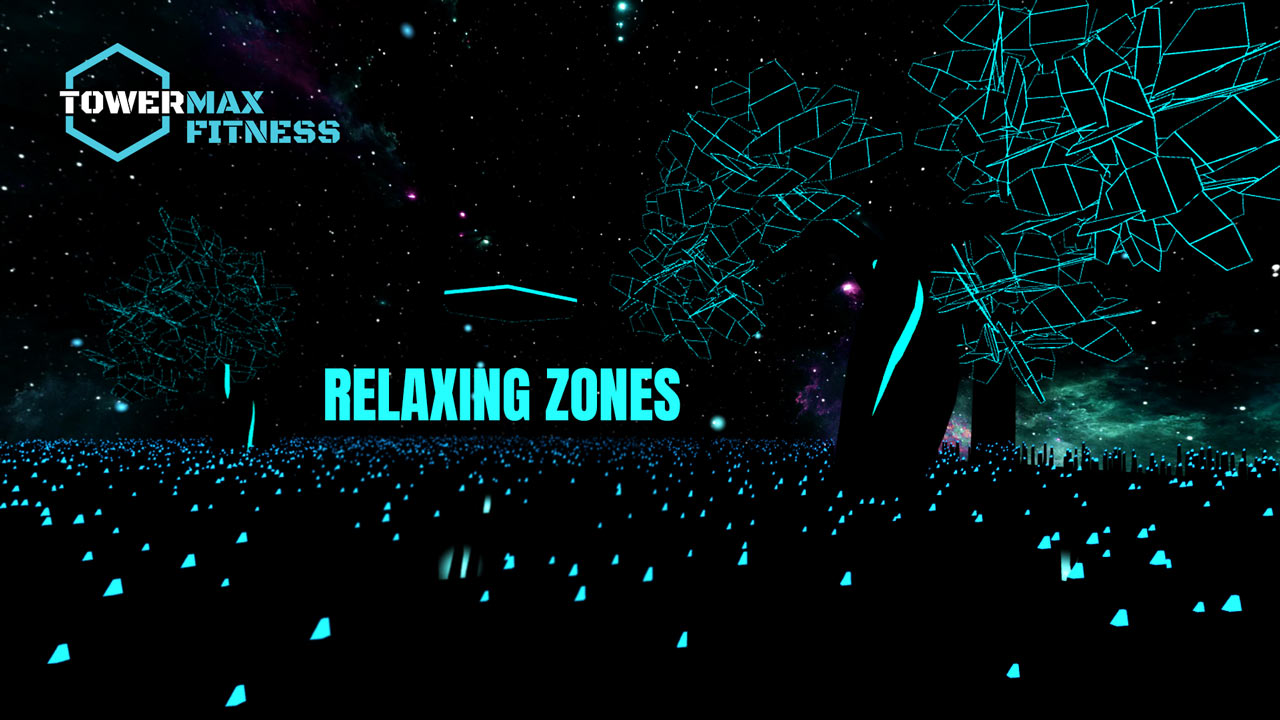 virtual reality relaxing zones